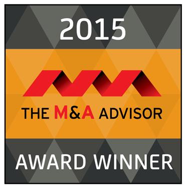 O'Keefe Announced as Winner at 14th Annual M&A Advisor Awards