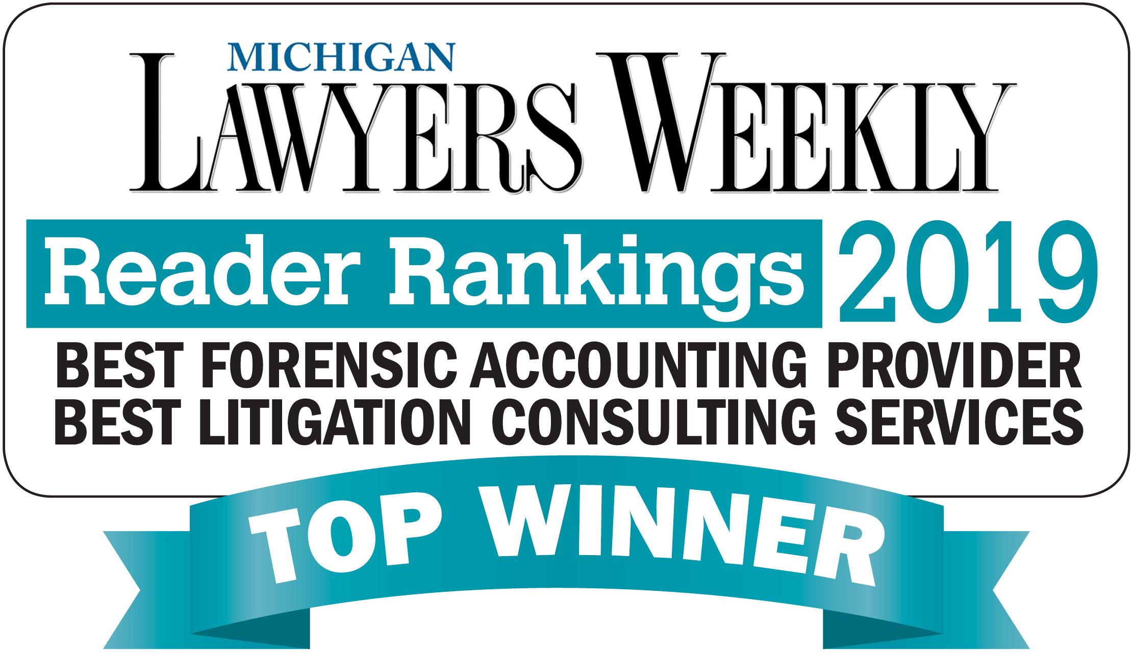 O'Keefe Named Best Litigation Consulting Services and Best Forensic Accounting Provider