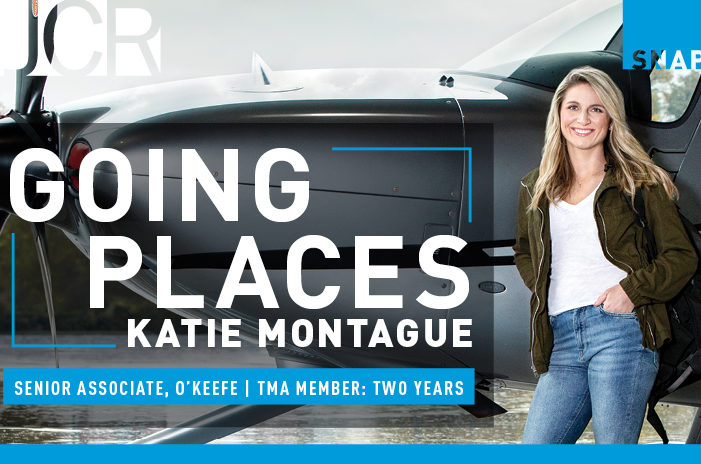 Going Places: Katie Montague