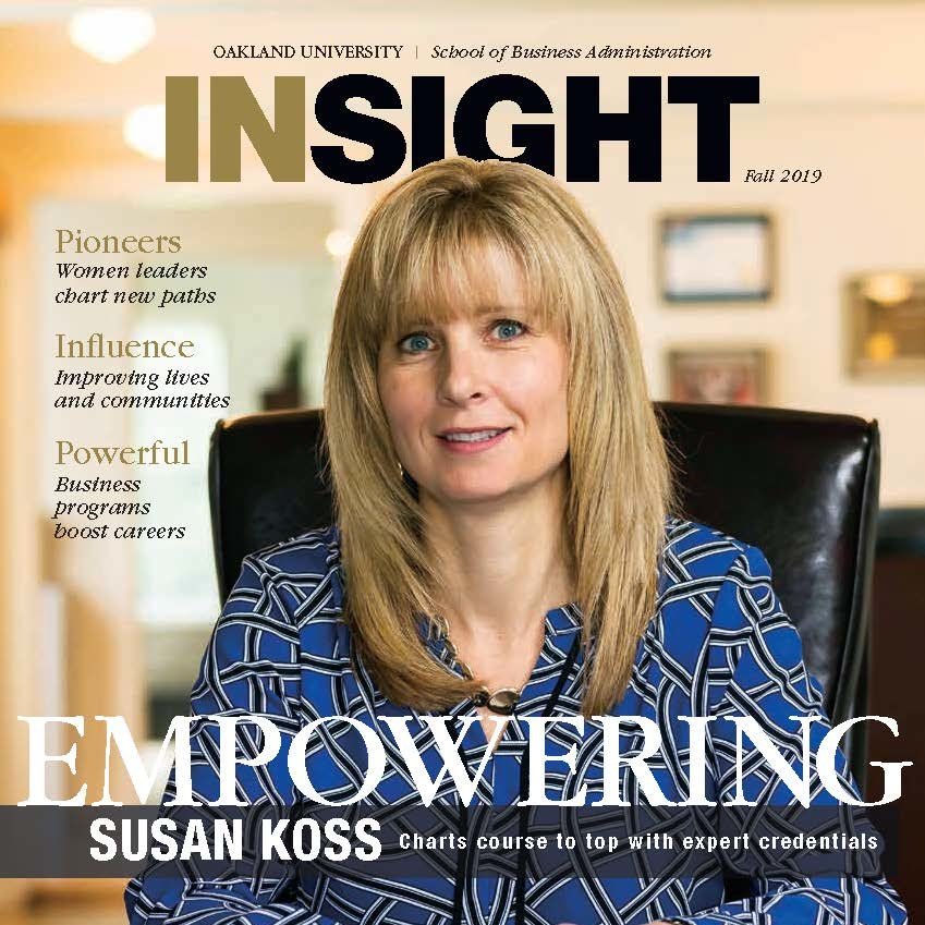 Sue Koss Featured in Insight Magazine