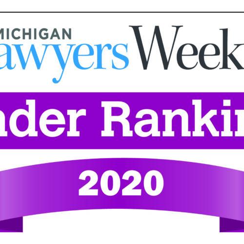 O'Keefe named winner in 5 categories in Michigan Lawyers Weekly Reader Rankings