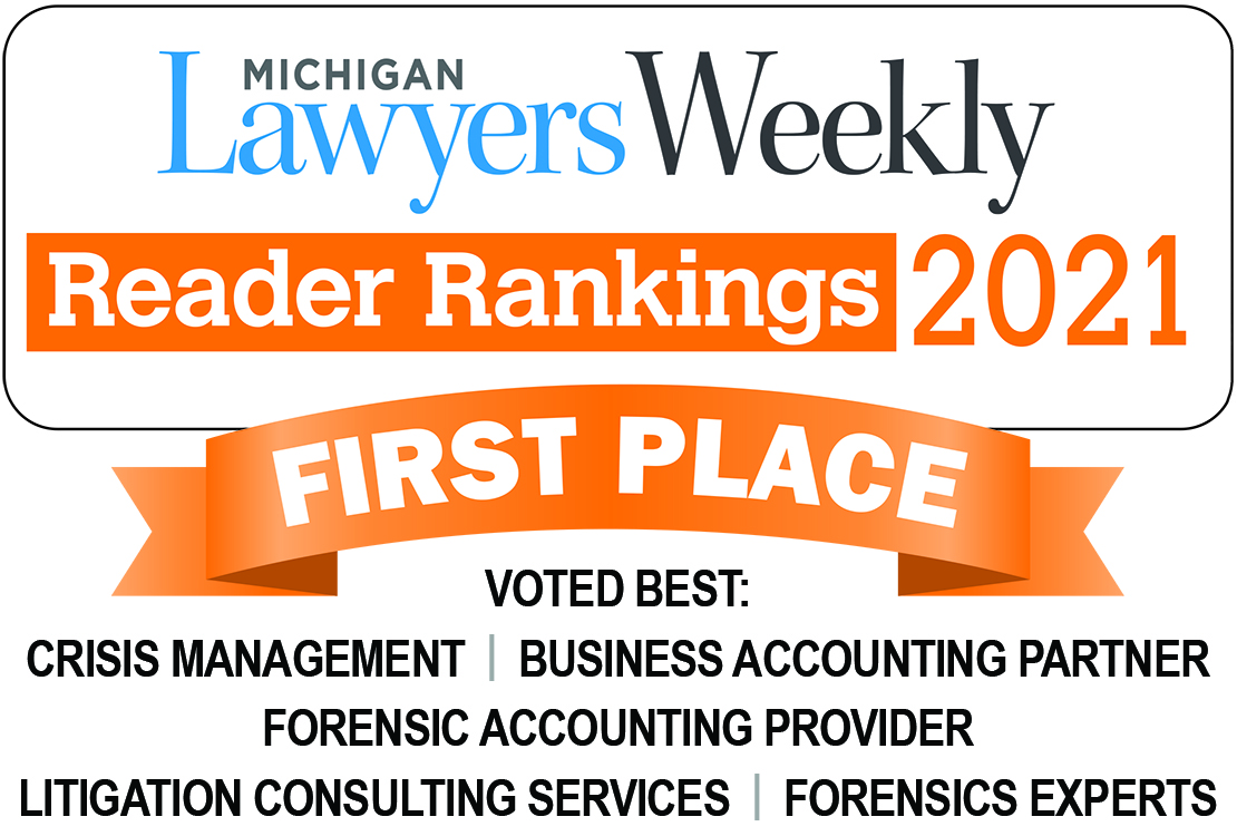 O'Keefe Tops 5 Categories in 2021 Michigan Lawyers Weekly Reader Rankings